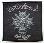 Motorhead - 'Bad Magic' Woven Patch